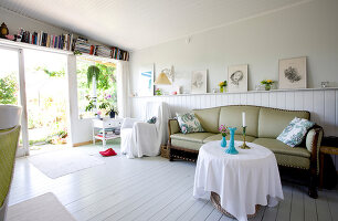 Bildno.: 11346273<br/><b>Feature: 11346253 - Jytte&#39;s Summer Dream</b><br/>Summer cottage in Denmark<br />living4media / Lene-K