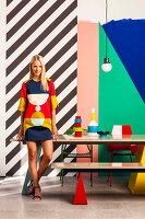 Bildnr.: 11349619<br/><b>Feature: 11349615 - Colour-Blocking</b><br/>Einrichtungs-Inspirationen mit kontrastvollen Farben<br />living4media / Bauer Syndication