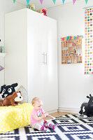Bildnr.: 11352833<br/><b>Feature: 11352784 - Am Puls der Zeit</b><br/>Die Designerin Elise liebt den skandinavischen Grafik-Stil<br />living4media / M&#246;ller, Cecilia