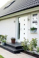 Bildnr.: 11352839<br/><b>Feature: 11352784 - Am Puls der Zeit</b><br/>Die Designerin Elise liebt den skandinavischen Grafik-Stil<br />living4media / M&#246;ller, Cecilia