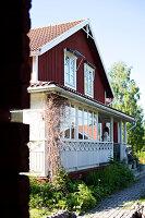 Bildno.: 11353165<br/><b>Feature: 11353089 - A Swedish Dream</b><br/>Renovated house in Dalarna, Sweden<br />living4media / M&#246;ller, Cecilia