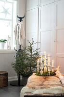 Bildnr.: 11370711<br/><b>Feature: 11370683 - Behagliches Weihnachtsfest</b><br/>Wei&#223;e Weihnachten im Kreis der Familie auf schwedische Art<br />living4media / M&#246;ller, Cecilia
