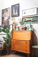 Bildnr.: 11373355<br/><b>Feature: 11373326 - Nat&#252;rlicher Charme</b><br/>Die Retro-Liebhaberin Sass lebt in einem Haus aus kalifornischem Holz<br />living4media / Jeffcott, Natalie