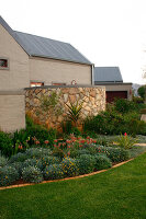 Bildno.: 11383153<br/><b>Feature: 11383132 - Indigenous Garden</b><br/>Low-maintenance country garden in Hartbeespoort<br />living4media / Great Stock!