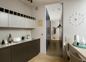 Bildno.: 11391763<br/><b>Feature: 11391754 - Warsaw Modern</b><br/>Sleek contemporary apartment in the Polish capital<br />living4media / Hristov, Yassen