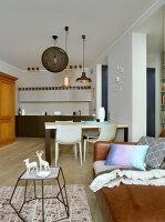Bildno.: 11391765<br/><b>Feature: 11391754 - Warsaw Modern</b><br/>Sleek contemporary apartment in the Polish capital<br />living4media / Hristov, Yassen