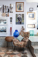 Bildno.: 11392719<br/><b>Feature: 11392685 - Missoni Magic</b><br/>Designer&#39;s house in Como, Italy<br />living4media / Cimarosti, Brando