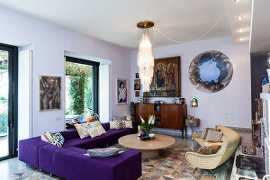 Bildno.: 11392723<br/><b>Feature: 11392685 - Missoni Magic</b><br/>Designer&#39;s house in Como, Italy<br />living4media / Cimarosti, Brando