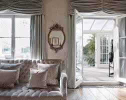 Bildnr.: 11394109<br/><b>Feature: 11394101 - An der Themse</b><br/>Wohnung im Georgianischen Stil mit Blick auf die Tower-Bridge, London<br />living4media / Cox, Stuart