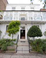 Bildnr.: 11394195<br/><b>Feature: 11394101 - An der Themse</b><br/>Wohnung im Georgianischen Stil mit Blick auf die Tower-Bridge, London<br />living4media / Cox, Stuart