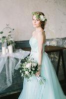 Bildno.: 11399509<br/><b>Feature: 11399471 - Floral Temptations</b><br/>Wedding accessories to complement the big day<br />living4media / Dogadaeva, Elizaveta