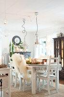 Bildnr.: 11400287<br/><b>Feature: 11400280 - Wohliges Winter-Wei&#223;</b><br/>Weihnachten bei Familie Hirsch in Schweden<br />living4media / M&#246;ller, Cecilia