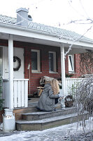 Bildnr.: 11400345<br/><b>Feature: 11400280 - Wohliges Winter-Wei&#223;</b><br/>Weihnachten bei Familie Hirsch in Schweden<br />living4media / M&#246;ller, Cecilia