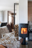 Bildno.: 11404427<br/><b>Feature: 11404388 - Northern Glamour</b><br/>Harmonious home on the Oslo Fjord in Norway<br />living4media / Nordstrom, Annette
