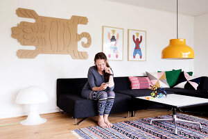 Bildnr.: 11407575<br/><b>Feature: 11407569 - D&#228;nisches-Design</b><br/>Dem Haus sieht man an, dass hier eine skandinavische Familie wohnt, Aarhus<br />living4media / Brandt, Jenny
