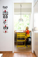 Bildnr.: 11407581<br/><b>Feature: 11407569 - D&#228;nisches-Design</b><br/>Dem Haus sieht man an, dass hier eine skandinavische Familie wohnt, Aarhus<br />living4media / Brandt, Jenny