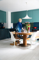 Bildno.: 11409199<br/><b>Feature: 11409190 - Nordic Colours</b><br/>A townhouse in Stockholm full of colour for a young family<br />living4media / Brandt, Jenny