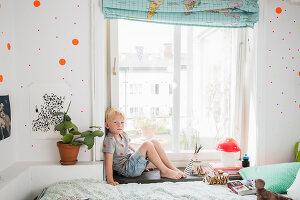 Bildno.: 11409285<br/><b>Feature: 11409243 - The Playful Home</b><br/>A young family creates one big playpen in Sweden<br />living4media / Brandt, Jenny