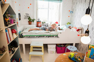 Bildno.: 11409287<br/><b>Feature: 11409243 - The Playful Home</b><br/>A young family creates one big playpen in Sweden<br />living4media / Brandt, Jenny