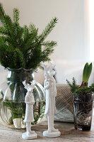 Bildnr.: 11425717<br/><b>Feature: 11425675 - O Tannenbaum</b><br/>Weihnachten in Schweden mit viel frischem Gr&#252;n aus dem Wald<br />living4media / M&#246;ller, Cecilia