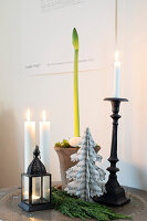 Bildno.: 11425723<br/><b>Feature: 11425675 - Forest Inspiration</b><br/>Christmas in Sweden with fresh green decoration from the forest<br />living4media / M&#246;ller, Cecilia