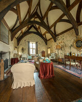 Bildno.: 11429231<br/><b>Feature: 11429150 - Restored to its Former Glory</b><br/>A small medieval manor house is brought to new life in Somerset, UK<br />living4media / Cox, Stuart