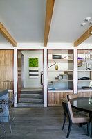 Bildno.: 11431449<br/><b>Feature: 11431407 - California Dreaming</b><br/>Artist and entrepreneur couple build a dream home in Laguna Beach, California<br />living4media / Parinejad, Patricia