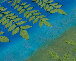 Bildnr.: 11432579<br/><b>Feature: 11432546 - Die Farben der Tropen</b><br/>Designerin Heather Maund bannt Farben und Stimmung der Seychellen auf Stoff<br />living4media / von Oswald, Yvonne