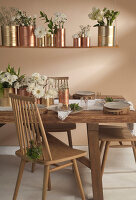 Bildno.: 11440623<br/><b>Feature: 11440613 - The Holiday Table</b><br/>Trendy looks for setting the holiday table<br />living4media / Great Stock!