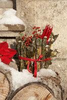 Bildnr.: 11445707<br/><b>Feature: 11445673 - Einen Blumentopf gewinnen</b><br/>Selbst gestaltete &#220;bert&#246;pfe als Mitbringsel und Winterdeko<br />living4media / Fr&#246;hlich, Heidi