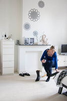 Bildno.: 11447677<br/><b>Feature: 11447596 - At Home with Haijkje</b><br/>Designer&#39;s home in The Netherlands<br />living4media / Marder, Holly