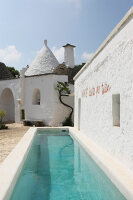 Bildno.: 11450993<br/><b>Feature: 11450940 - Luxury Lifestyle</b><br/>Luxurious Trullo house in Puglia, Italy<br />living4media / Annette &amp; Christian