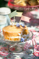 Bildno.: 11453617<br/><b>Feature: 11453608 - Tea in the Garden</b><br/>Summertime is garden tea time in the United Kingdom<br />living4media / Heinze, Winfried