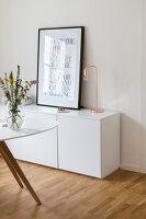 Bildno.: 11459489<br/><b>Feature: 11459484 - Decorative Touch</b><br/>Scandinavian style living room in Vienna<br />living4media / Wiener Wohnsinn