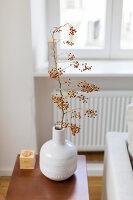 Bildno.: 11459509<br/><b>Feature: 11459484 - Decorative Touch</b><br/>Scandinavian style living room in Vienna<br />living4media / Wiener Wohnsinn