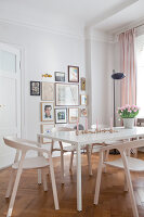 Bildno.: 11500327<br/><b>Feature: 11500301 - Pearls and Cream</b><br/>Soothing colours enhance this Berlin apartment<br />living4media / Scoffoni, Anne-Catherine