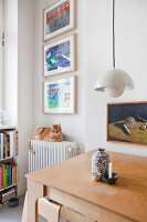Bildno.: 11500355<br/><b>Feature: 11500301 - Pearls and Cream</b><br/>Soothing colours enhance this Berlin apartment<br />living4media / Scoffoni, Anne-Catherine