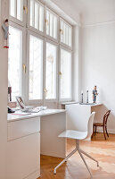 Bildno.: 11500357<br/><b>Feature: 11500301 - Pearls and Cream</b><br/>Soothing colours enhance this Berlin apartment<br />living4media / Scoffoni, Anne-Catherine