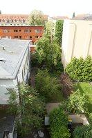 Bildnr.: 11501049<br/><b>Feature: 11501027 - Gr&#252;ne Oase in der Stadt</b><br/>Galeristin Elly liebt es in ihrem Garten zu lustwandeln und zu meditieren, Dresden<br />living4media / Krieg, Roland