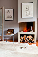 Bildnr.: 11501869<br/><b>Feature: 11501838 - Eine Einladung an die Natur</b><br/>Laetitia hat Zuhause eine Mischung aus Natur- und Design-Objekten, bei Marseille<br />living4media / Scoffoni, Anne-Catherine