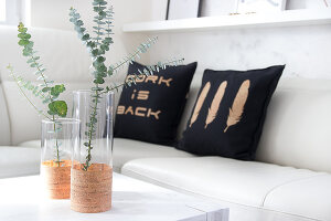 Bildno.: 11502359<br/><b>Feature: 11502331 - Trendy with Cork</b><br/>DYI ideas using cork in new and exciting ways<br />living4media / Algermissen, Astrid