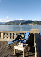 Bildno.: 11503187<br/><b>Feature: 11503153 - For the Love of the Lake</b><br/>A restored boat house on Lago d&#39;Orta in northern Italy<br />living4media / Maulini, Pier