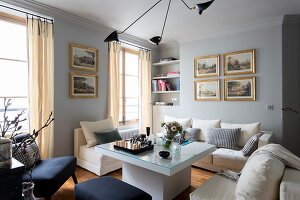 Bildno.: 11508873<br/><b>Feature: 11508864 - Parisian Nest</b><br/>In the very center of the Ile Saint-Louis, a home full of charm<br />living4media / Hallot, Olivier