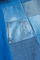 Bildnr.: 11510135<br/><b>Feature: 11510134 - Nimm&#39;s Denim!</b><br/>DIY, N&#228;hen und Deko mit Blue Jeans<br />living4media / Greenhaus Press