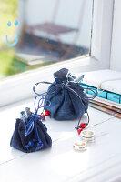 Bildnr.: 11510141<br/><b>Feature: 11510134 - Nimm&#39;s Denim!</b><br/>DIY, N&#228;hen und Deko mit Blue Jeans<br />living4media / Greenhaus Press
