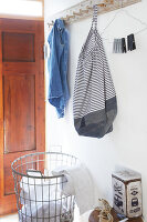 Bildnr.: 11510147<br/><b>Feature: 11510134 - Nimm&#39;s Denim!</b><br/>DIY, N&#228;hen und Deko mit Blue Jeans<br />living4media / Greenhaus Press