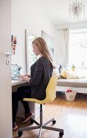 Bildnr.: 11512293<br/><b>Feature: 11512267 - Strandgutsammler</b><br/>Das Zuhause von Tina Firk in Hamburg ist inspiriert von Skandinavischen Str&#228;nden<br />living4media / Wentorf, Eckard