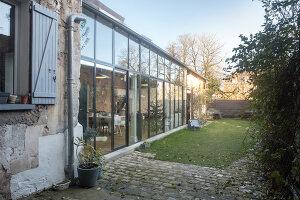 Bildnr.: 11515051<br/><b>Feature: 11515039 - Die alte Scheune</b><br/>Ein 400 Jahre altes Haus und seine Scheune wurden zum Vintage-Wohntraum, FR<br />living4media / Scoffoni, Anne-Catherine