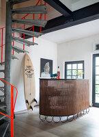 Bildno.: 11516931<br/><b>Feature: 11516899 - Keyed-Up Charm</b><br/>A former locksmith&#39;s workshop is now a comfortable home in Hamburg<br />living4media / Wentorf, Eckard