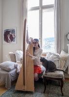 Bildnr.: 11948075<br/><b>Feature: 11948045 - Pittoreskes Juwel</b><br/>Einzigartige Wohnung in einer verwunschenen Jugendstil-Villa von 1895, Schweiz<br />living4media / Wentorf, Eckard